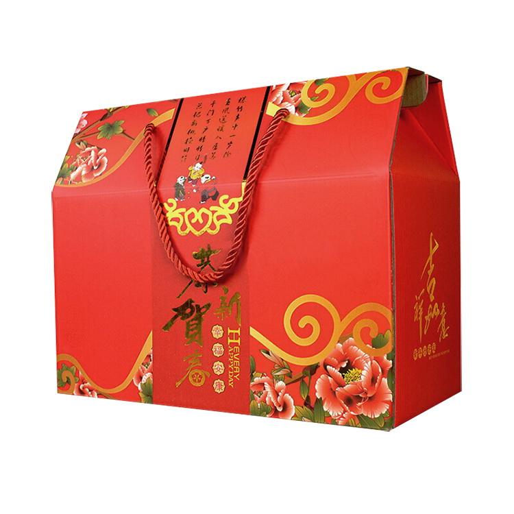 手提年货盒c